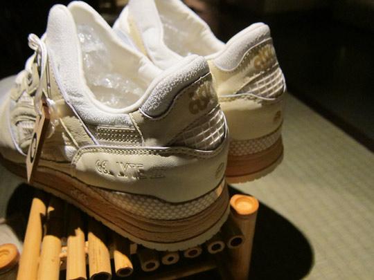 asics femme sneakers beige