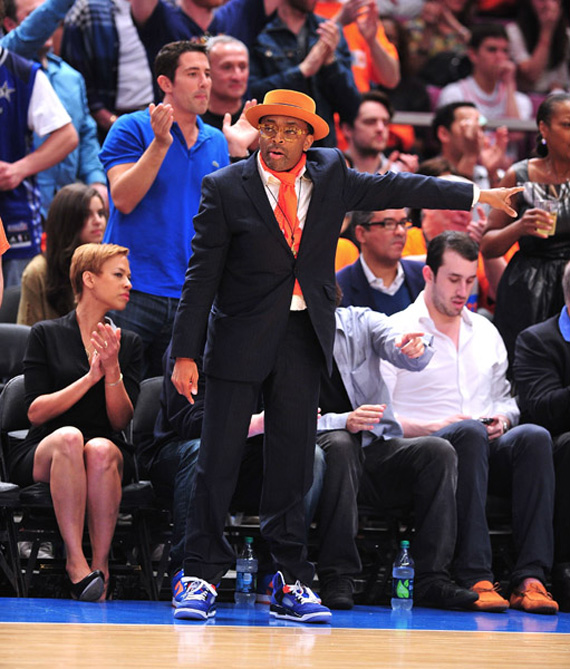 Spike Lee en Air Jordan Spiz'ike