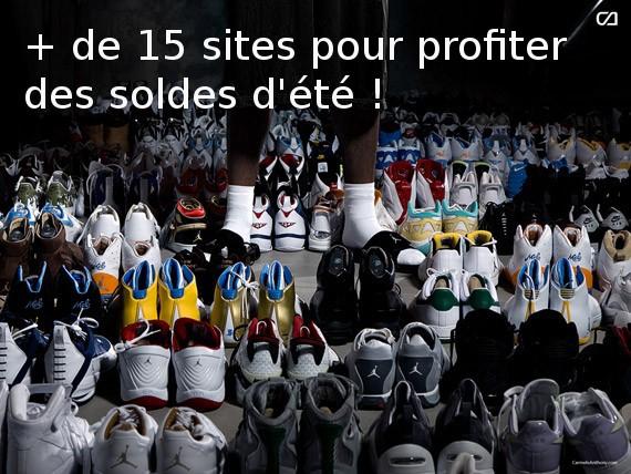 Soldes baskets et sneakers : + de 15 sites pour acheter des sneakers !