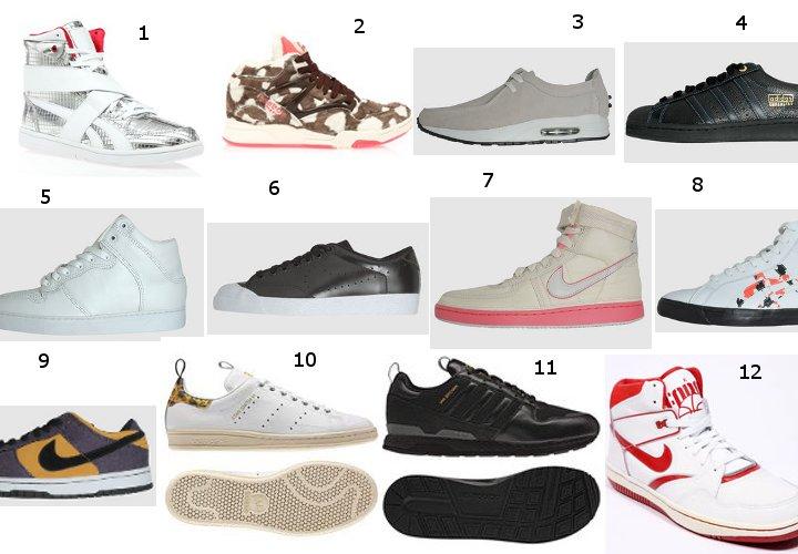 Soldes d'été 2011 – Sélection de sneakers Nike, Asics, Adidas Originals, Be Positive, Reebok en soldes !