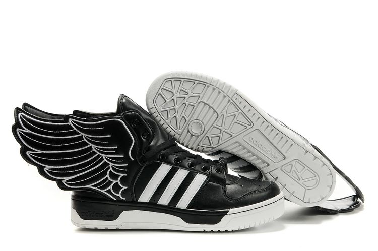 adidas jeremy scott wings noir