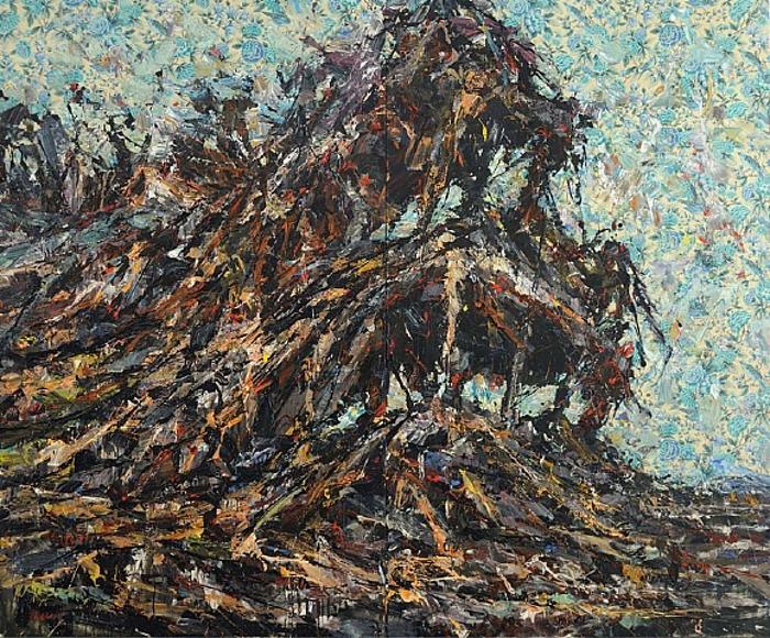 Ayman Baalbaki ou l'art arabe de la guerre….