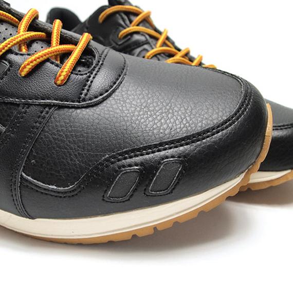 La Asics gel Lyte 3 Black Leather, une running à la sauce hiking