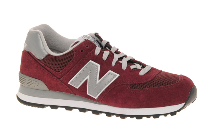 new balance 574 sonic bordeaux