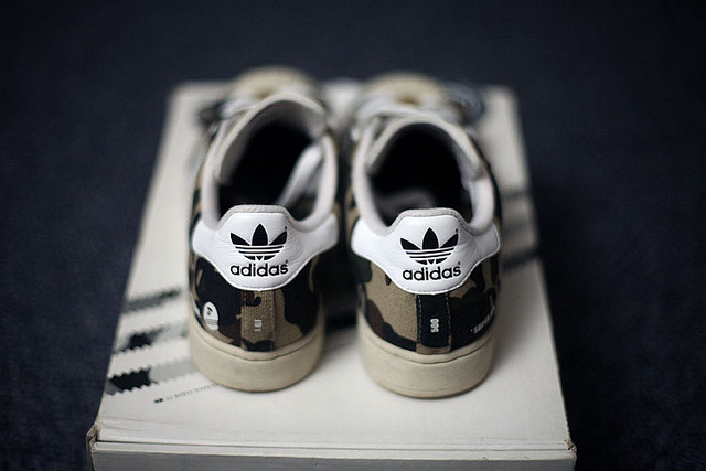 Adidas Super Ape Star Camo