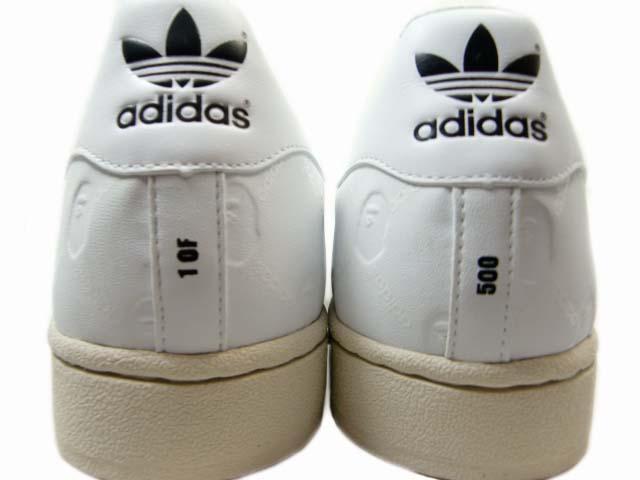Adidas Super Ape Star White Black