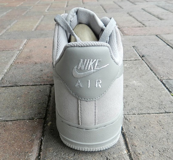 Nike Air Force 1 Low Tonal Grey Suede
