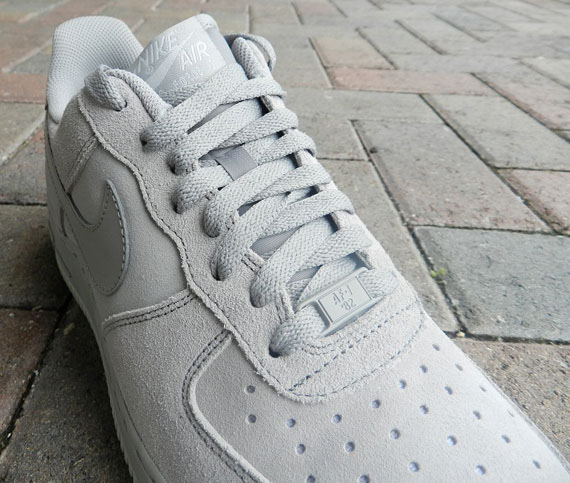 Nike Air Force 1 Low Tonal Grey Suede