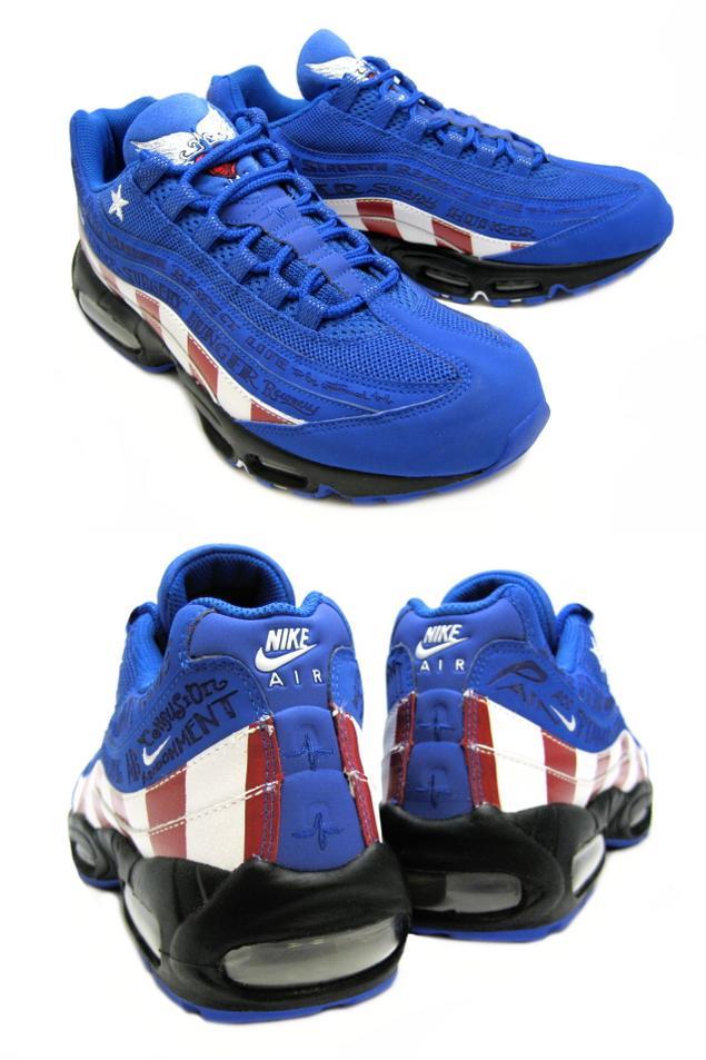 Nike Air Max 95 Captain America