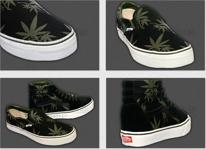 Les sources d'inspiration – Le cannabis et les sneakers fumantes….
