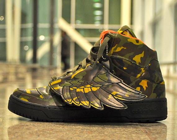 Adidas Originals Jeremy Scott Wings Camo