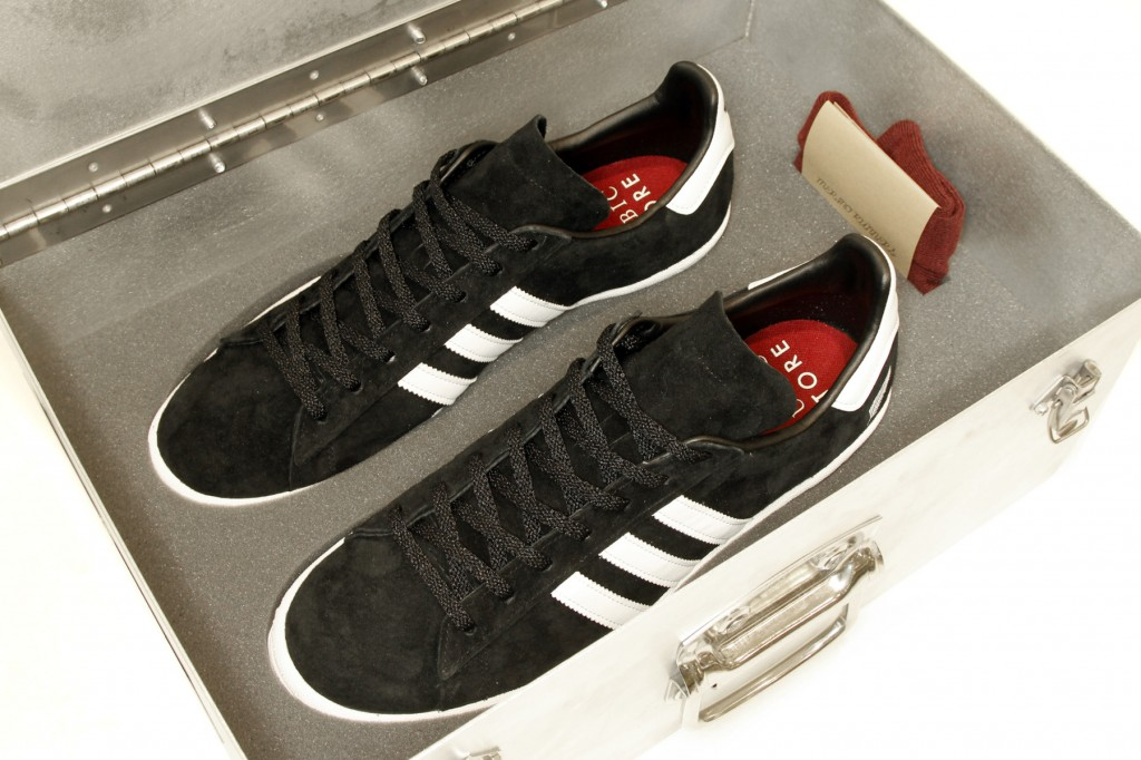 "Adidas Campus 80's ""All Heroes"" x All Blacks x Qubic"