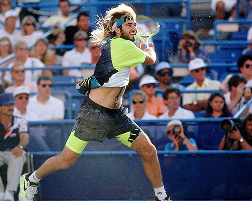 Andre Agassi en Nike Air Tech Challenge