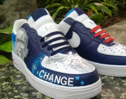 Chaussures Nike Air Force 1 Obama & Adidas Stan Smith & Vans Obama