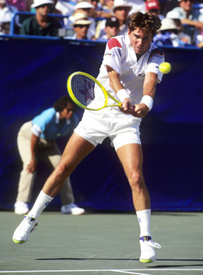 Jimmy Connors en Nike Air Tech Challenge 4