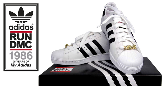 Les baskets Adidas Superstar Run DMC « My Adidas » dispo le 11 novembre