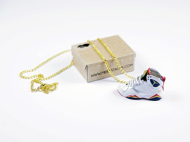 Des pendentifs Nike Air Max 1 et Air Jordan 1 & 7 Olympic !