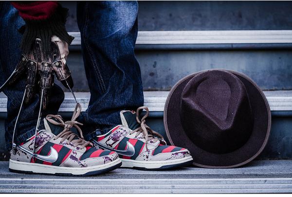 Nike Dunk Freddy Krueger & Jason Voorhees