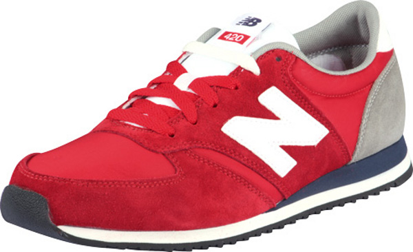 New Balance 420 Noir Bleu Rouge