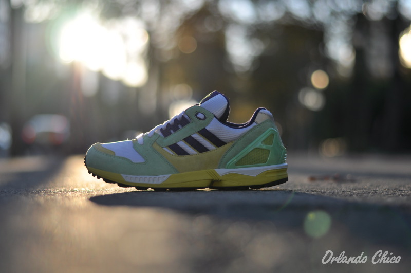Adidas ZX 8000 Torsion Super Green
