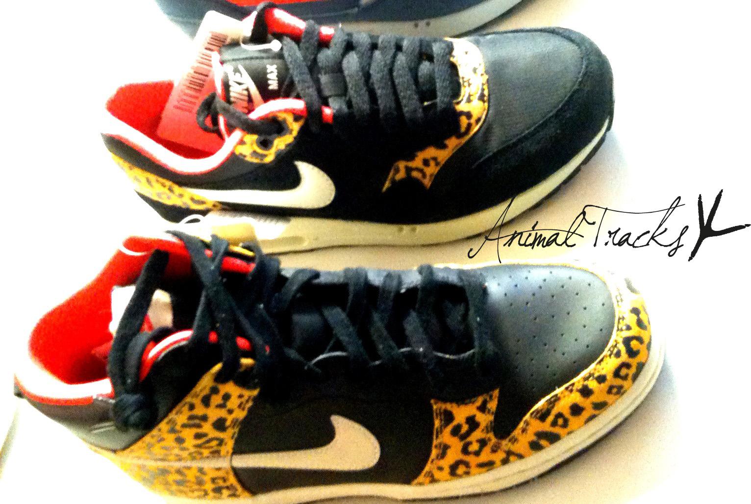 Nike Dunk High & Air Max 1 Animal 2012