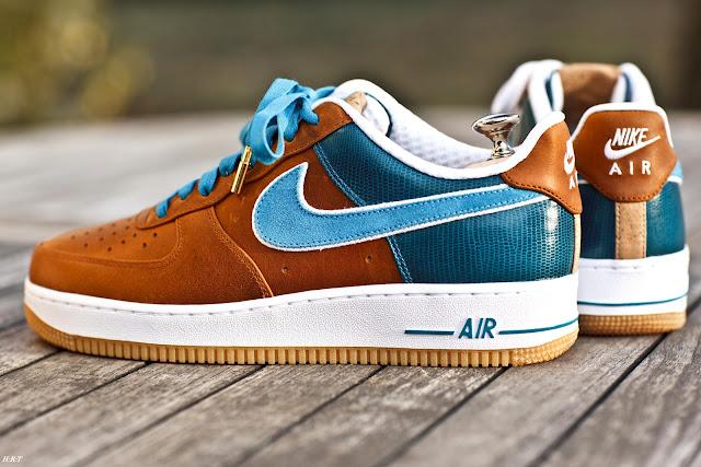 Une Nike Air Force 1 Bespoke Imagin 233 E Par Un Fran 231 Ais
