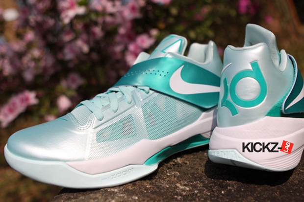 "NIKE ZOOM KD IV ""MINT CANDY"""