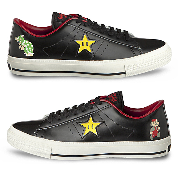Download image Mario Bros X Converse One Star Ox Bowser Gooba PC ...