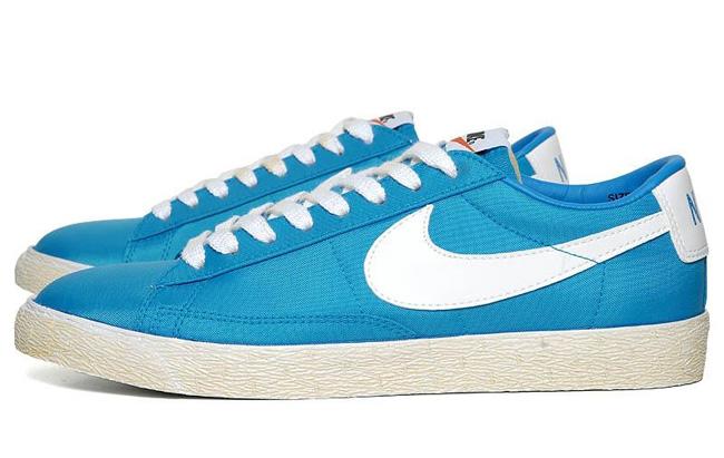 blue low nike blazers
