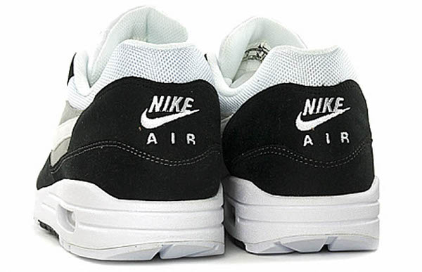 Nike Air Max 1 – Black/Grey – baskets Nike