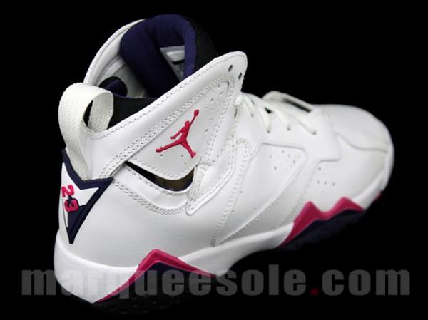 Air Jordan Blanc Et Rose Femme