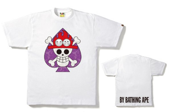 Bape x One Piece – la collection de t-shirts ultime