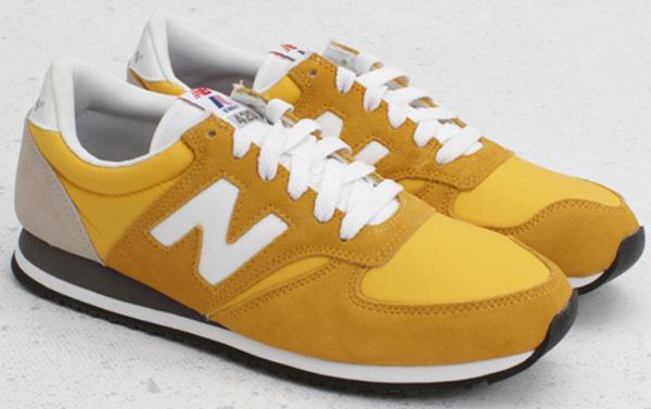 new balance femme u420 jaune
