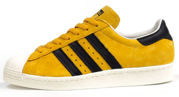 adidas superstar jaune moutarde