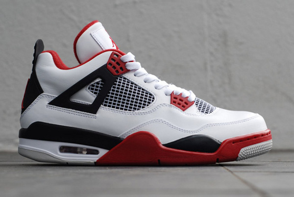 air jordan 4 red fire