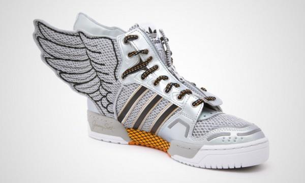 Jeremy Scott Adidas Wings Silver