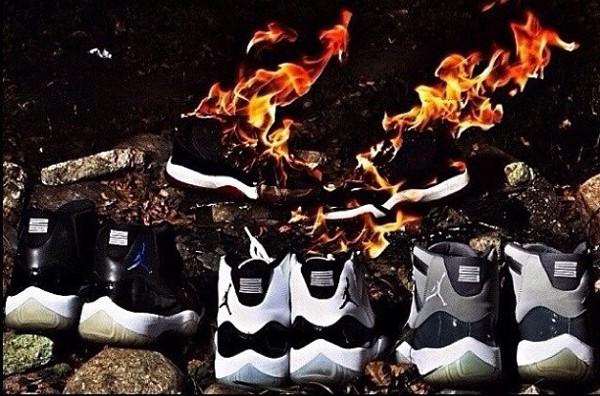 chaussures jordan contrefaçon