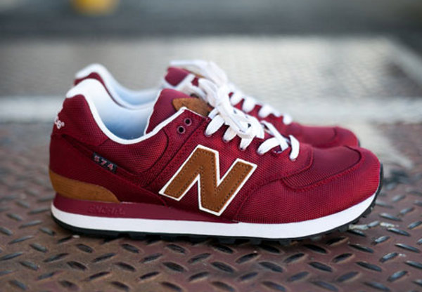 new balance bordeaux 574