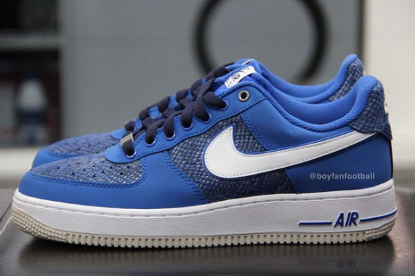 air force 1 bleue