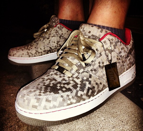 Nike Air Force 1 Low Bespoke Digi Camo