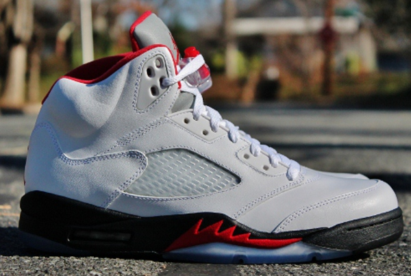 Nike Air Jordan V Fire Red Retro 2013