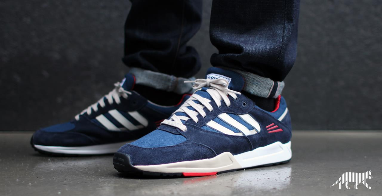 adidas super tech bleu