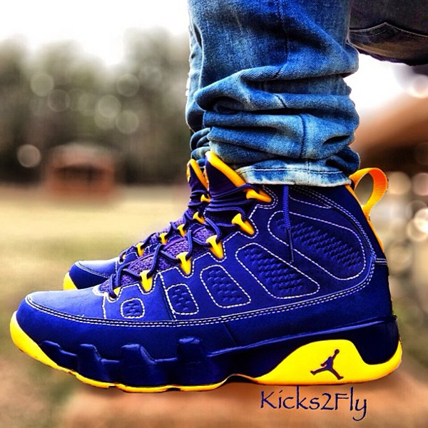 Air Jordan 9 Calivin Bailey - Michael Rivero