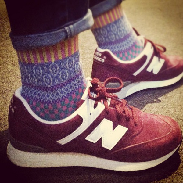 New Balance 576 Bordeaux