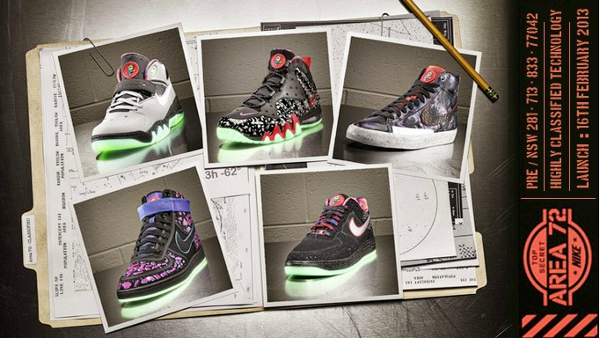 Nike Area 72 Quickstrike
