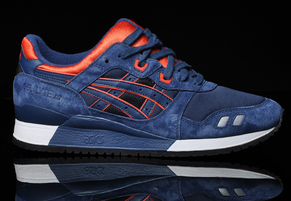 Asics Gel Lyte 3 Suede Bleu/Orange