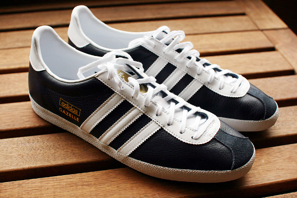 Adidas Originals - Gazelle Og - Baskets En Cuir - Noir