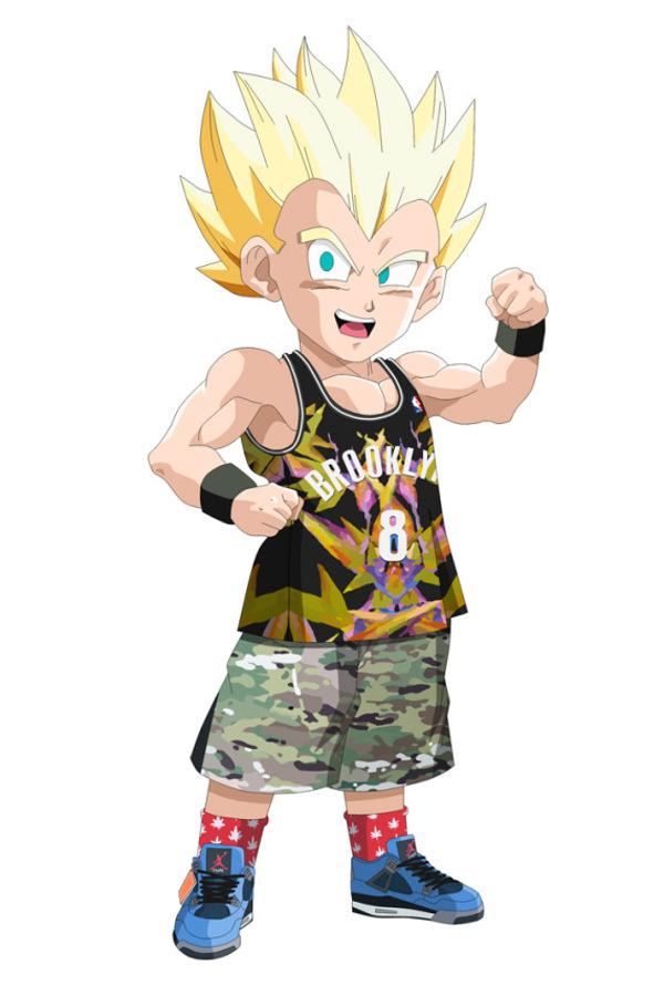 Gotrunk Dragon Ball Z En Air Jordan 4 Eminem