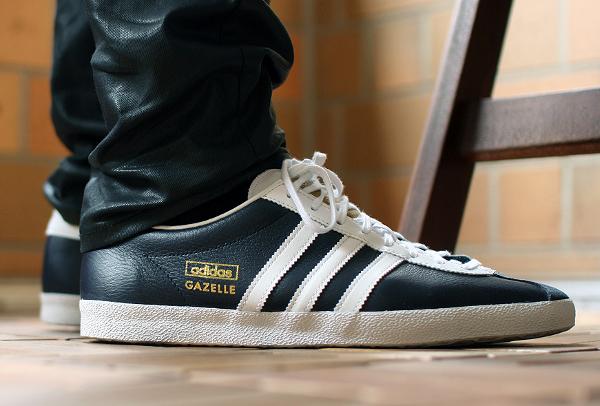 Adidas - Gazelle Og - Baskets En Cuir - Noir