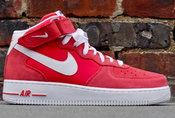 air force 1 mid rouge